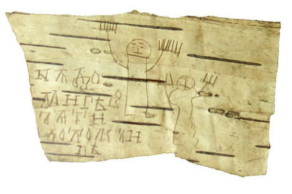 Scarabocchi: anche i bambini di 700 anni fa li disegnavano