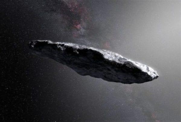 """'Oumuamua, """"sigaro di roccia"""" che viene da una altro Sistema Solare, è una cometa"""