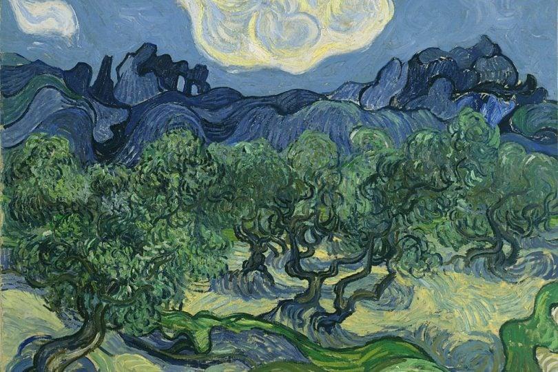 Per 128 anni un insetto è rimasto intrappolato in un quadro di Van Gogh