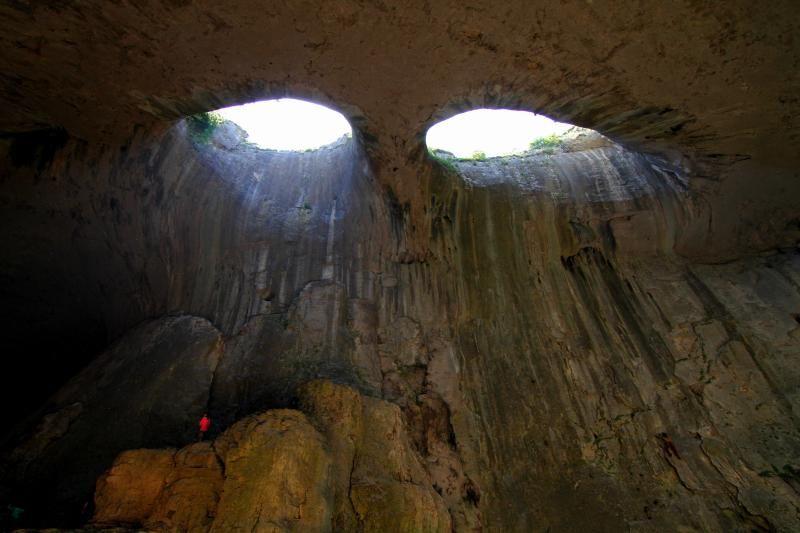 """Una grotta chiamata """"Occhi di Dio""""!"""