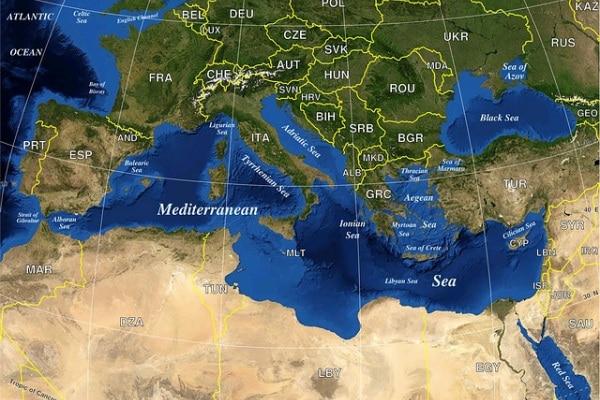 Quando il Mar Mediterraneo evaporò si scatenarono i vulcani