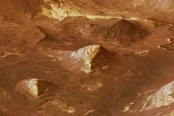 Il mistero delle Piramidi su Marte!