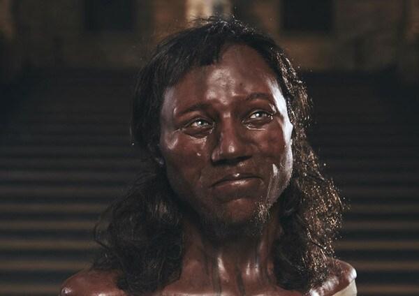 Il primo britannico? Era nero e aveva gli occhi azzurri!