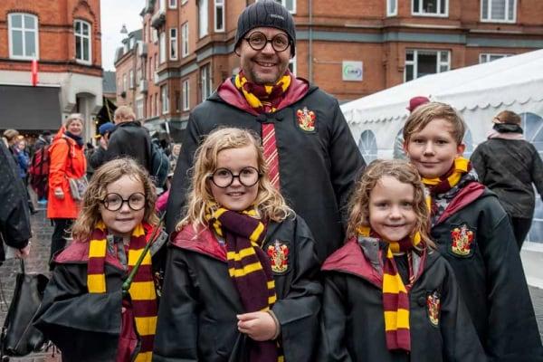 Tutti pazzi per il festival dedicato a Harry Potter!