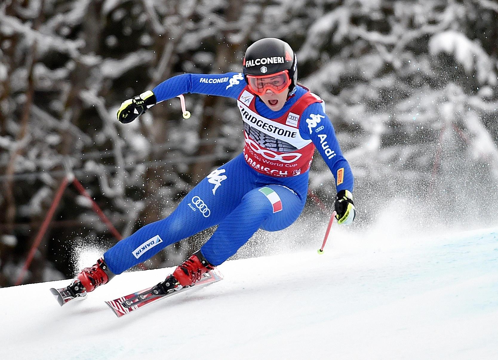 Le foto più belle della sciatrice Sofia Goggia, oro alle Olimpiadi