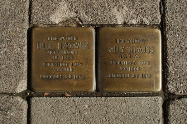 Giornata della Memoria: le pietre d'inciampo che ricordano le vittima della Shoah