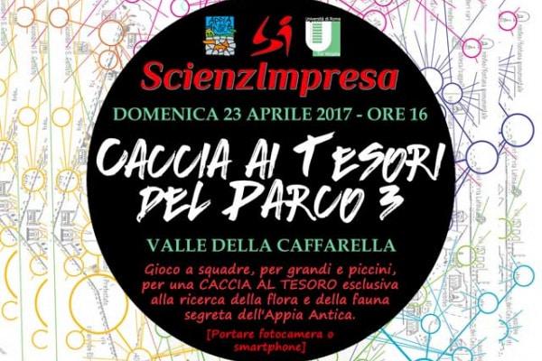 Roma | Domenica 23, tutti alla Caccia ai Tesori del Parco!