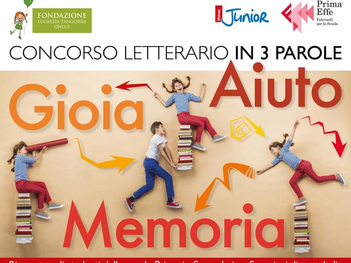 """Concorso letterario """"In 3 Parole"""": una grande occasione per i giovani scrittori!"""