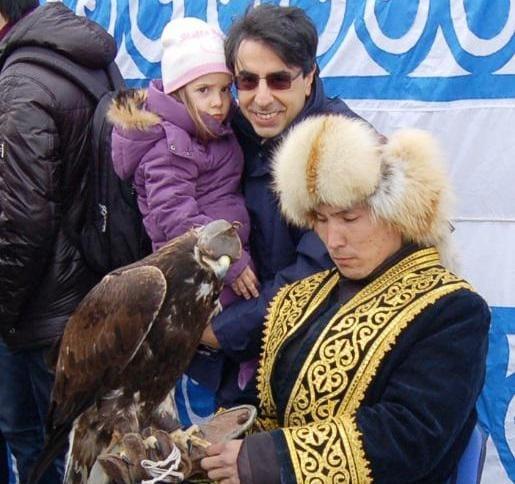 Junior Reporter: L'aquila del Kazakistan