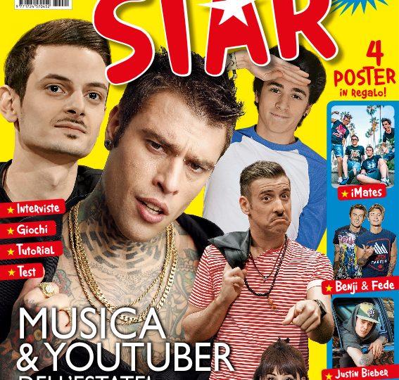 Star, la rivista sui tuoi cantanti e youtuber preferiti