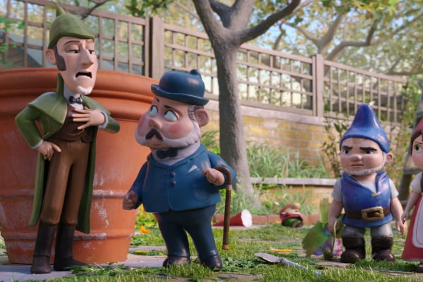 Sherlock Gnomes e gli gnomi da giardino: la gallery dal film