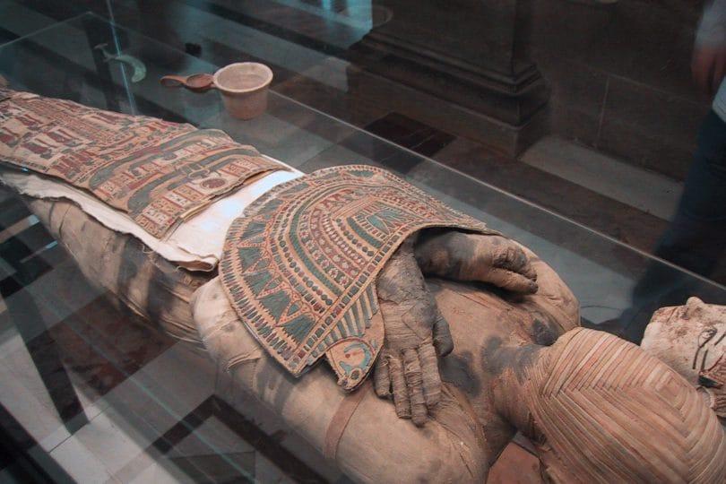 La vera faccia di un antico egizio