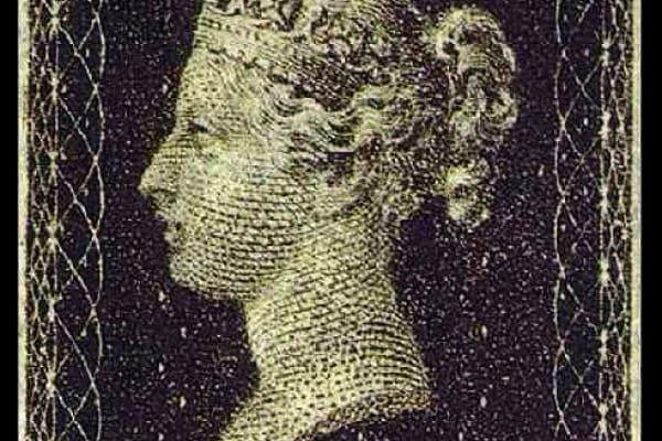 Il primo francobollo della storia: il Penny Black