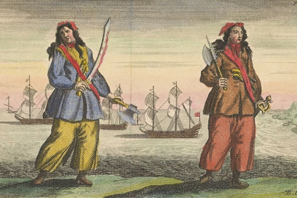 La storia delle piratesse Anne Bonny e Mary Read