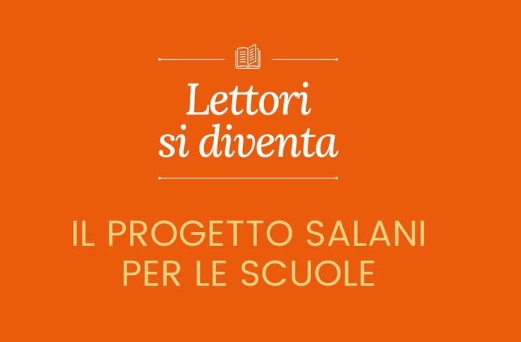 """""""Lettori si diventa"""", il progetto di Salani per una scuola più ricca di idee"""